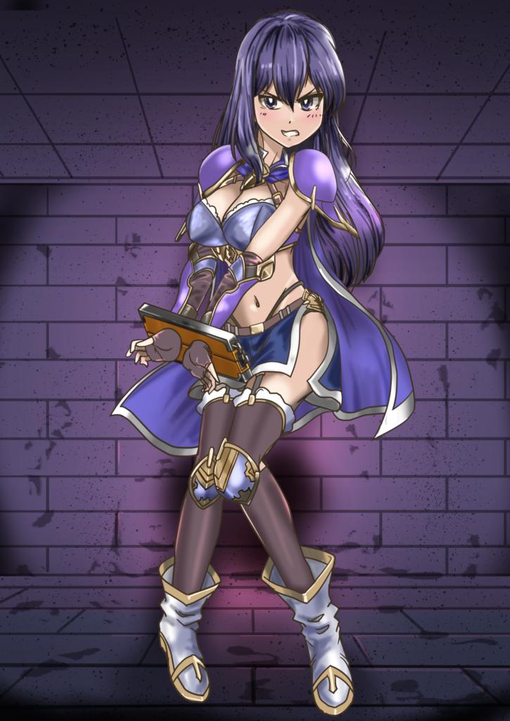 姫騎士Before